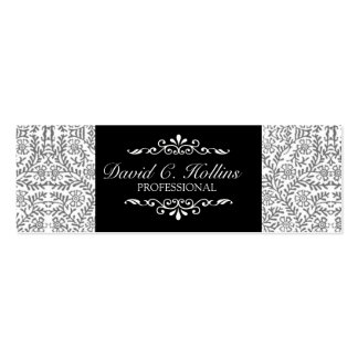 Elegant Artistic Promotional  Chicness Fancy Cute Double-Sided Mini Business Cards (Pack Of 20)
