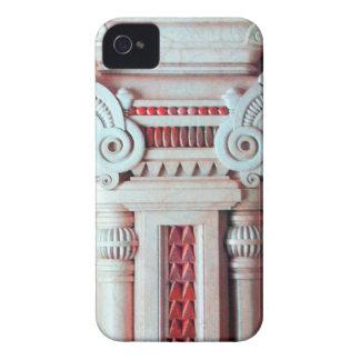 ELEGANT ARTISTIC RED WHITE FANTASY DECOR iPhone 4 COVER