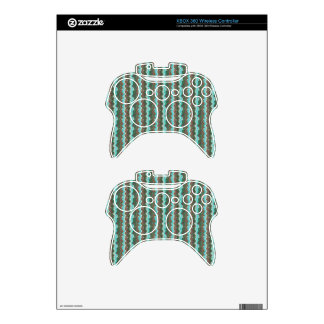 Elegant Artistic Waves Pattern Texture on Gifts 99 Xbox 360 Controller Decal