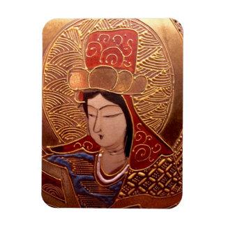 Elegant Asian Woman Magnet