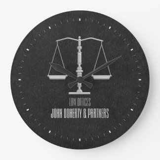 Elegant Attorney at Law | Law Office Large Clock