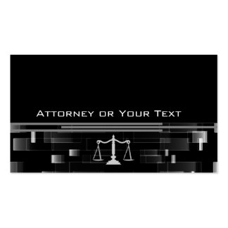 Elegant Attorney Double-Sided Standard Business Cards (Pack Of 100)