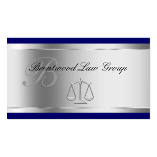 Elegant Attorney Business Cards