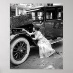 Elegant Auto Mechanic Posters