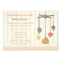 Fall themed baby shower invitations announcements zazzle elegant autumn fall baby shower invitations filmwisefo Choice Image