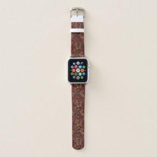 Elegant autumn marbled Apple Watch band