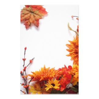 Elegant Autumn Stationary Stationery