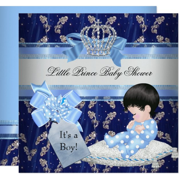 little prince baby shower invitations & announcements | zazzle, Baby shower invitations