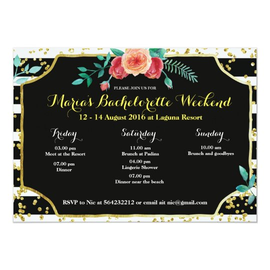 Bachelorette Invitations  Announcements  Zazzle