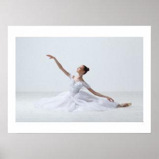 Elegant Ballerina Lg.-SRF Poster