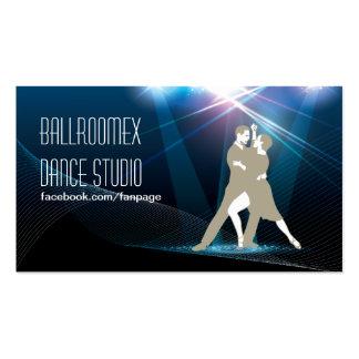 Elegant Ballroom Dance Studio Business Card