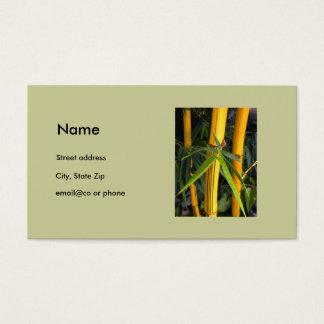 Bamboo Business Cards & Templates