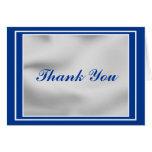 Elegant Bar Mitzvah Thank You Card - Customized