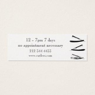 Elegant Barber shop business card