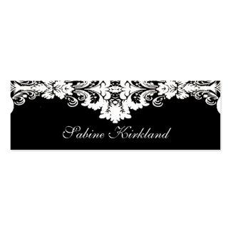 Elegant Baroque Business Card