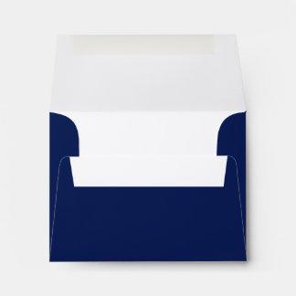 Elegant Bat Mitzvah Navy Blue Envelope