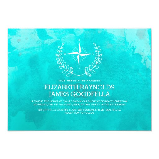 elegant beach destination wedding invitations zazzle With fancy destination wedding invitations