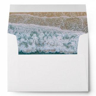 Elegant Beach Ocean Envelope