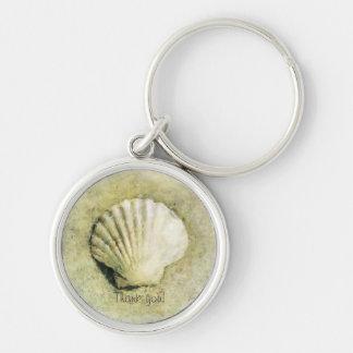 Elegant Beach Seashell Key Chains