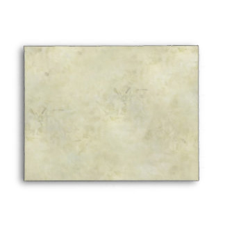 Elegant Beach Seashell Notecard Size RSVP Envelope
