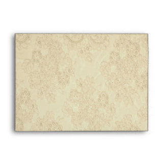 Elegant Beaded Lace Card Envelope