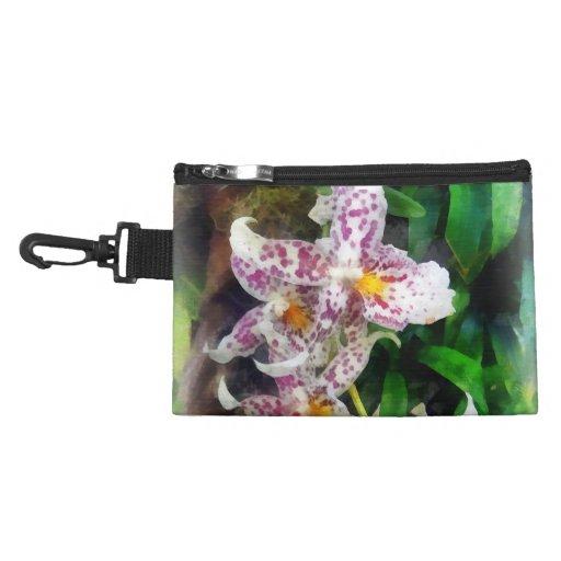 Elegant Beallara Orchid Accessories Bags