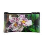 Elegant Beallara Orchid Cosmetic Bags