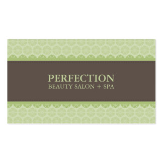 ELEGANT BEAUTY BUSINESS CARD :: perfection 6BL