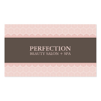 ELEGANT BEAUTY BUSINESS CARD :: perfection 8BL