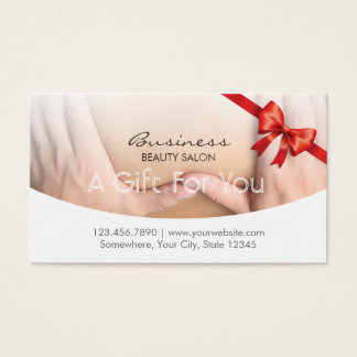 Elegant Beauty Therapy Salon Gift Certificate