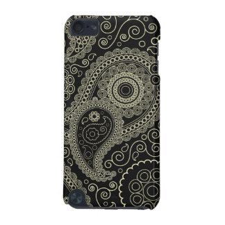 Elegant beige Paisley Pattern iPod Touch (5th Generation) Cover