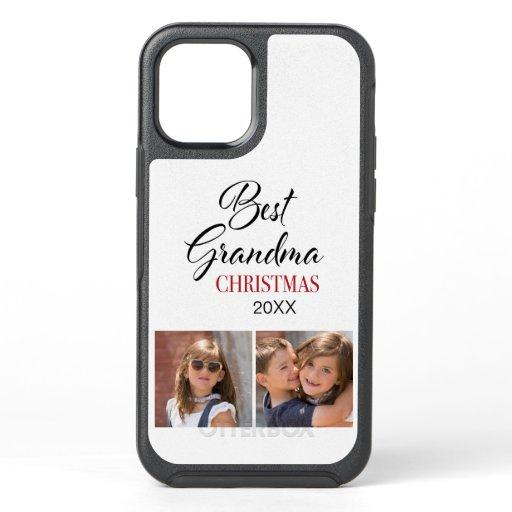 Elegant Best Grandma Christmas OtterBox Symmetry iPhone 12 Case
