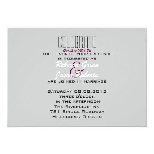 elegant bird floral spring vintage Wedding 5x7 Paper Invitation Card