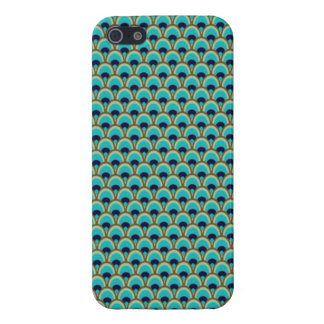 Elegant Bird Pavo Feather Graphic Pattern Cover For iPhone 5