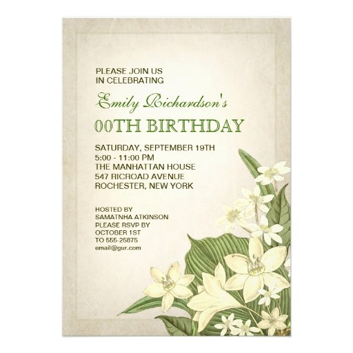 Elegant Party Invitations and get inspiration to create nice invitation ideas