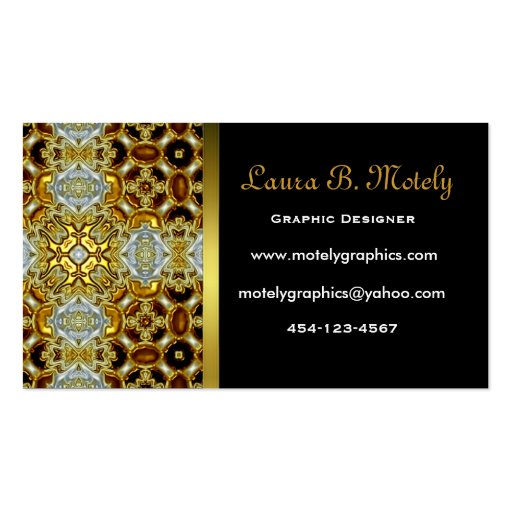 Elegant black and gold business card zazzle for Black and gold business cards