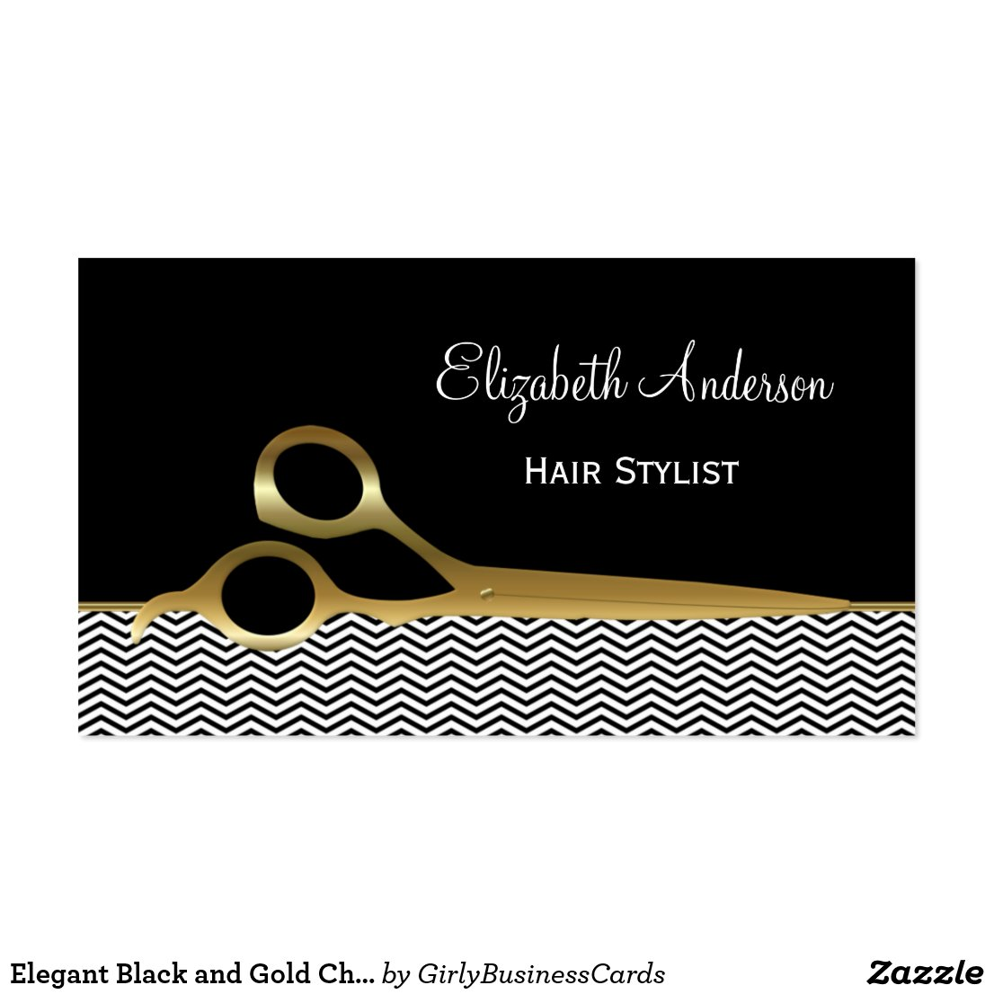 Hair stylist business card templates free bigking keywords and pictures gold chevrons hair salon hair stylist business card templates free fbccfo Choice Image