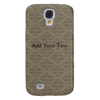 Elegant Black and Gold Damask Pop Samsung Galaxy S4 Cover