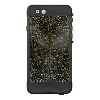 Elegant Black and Gold Mandala iPhone Case