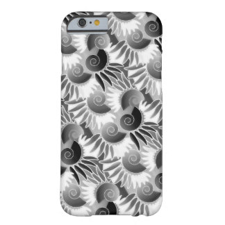 Elegant Black and White Art Deco Miami Barely There iPhone 6 Case