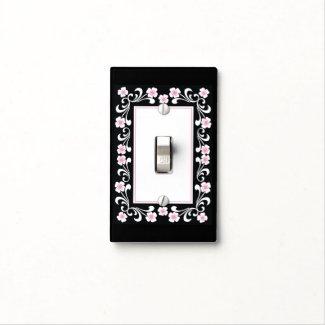Elegant Black And White Floral Pattern