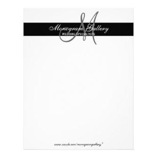 monogram letterhead template free