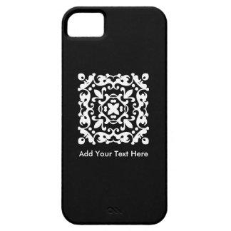 Elegant Black and White Vintage Decorative iPhone SE/5/5s Case