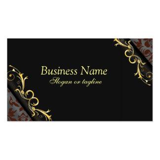Elegant Black Business Cards