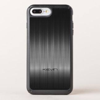 Elegant Black Carbon Fiber Texture Speck iPhone Case