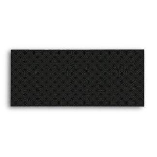 Elegant Black Envelope - #9
