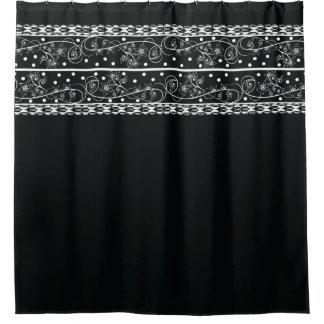 Black Lace Shower Curtains | Zazzle