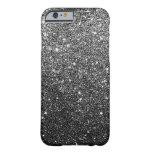 Elegant Black Glitter iPhone 6 case