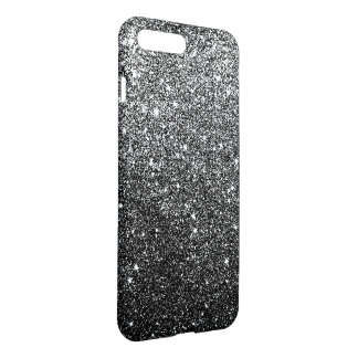 Elegant Black Glitter iPhone 7 Plus Case
