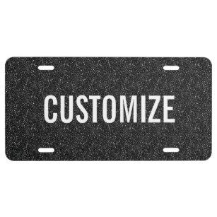 Personalized Front License Plates >> License Plates Zazzle